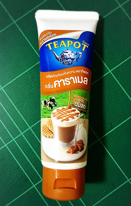 TEA POT Sweetened Condensed Milk Caramel Flavoured 180g.