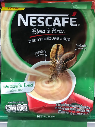 NESCAFE 3in1 Coffee - Espresso 426.6g. (15.8g. x 27Pcs.)