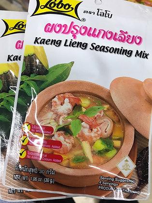 LOBO Kaeng Lieng Seasoning Mix 60g. (Pack 2)