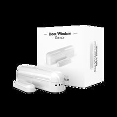 Sensor de puertas y ventanas FIBARO Z-Wave. El sensor de contacto y temperatura más pequeño en el mercado que permite aumentar tu seguridad y comodidad.