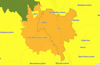 Kyiv fell into the orange epidemiological level - What that means?