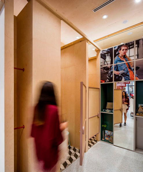 ATTIK-Sydney-person-walking-timber-mirro