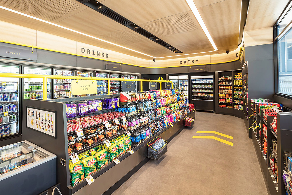 The bp standalone convenience store design