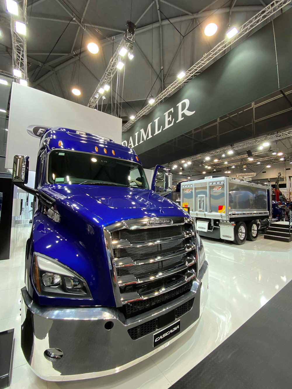 We designed a stand for Daimler Australia for the iconic Brisbane Truck Show