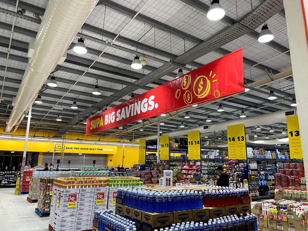 Supa big savings at the new IGA Ballina store