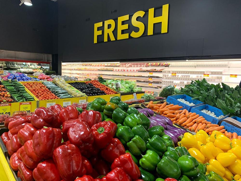 SUPA VALU supermarket in Ballina