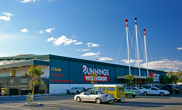 Bunnings Warehouse is likened to a large shed
