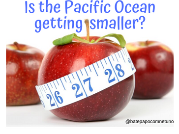 Is the Pacific Ocean getting smaller?