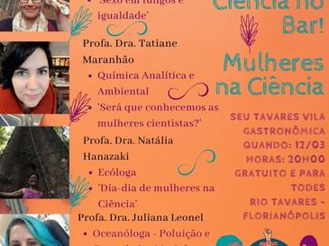 Ciência no Bar - Mulheres na Ciência