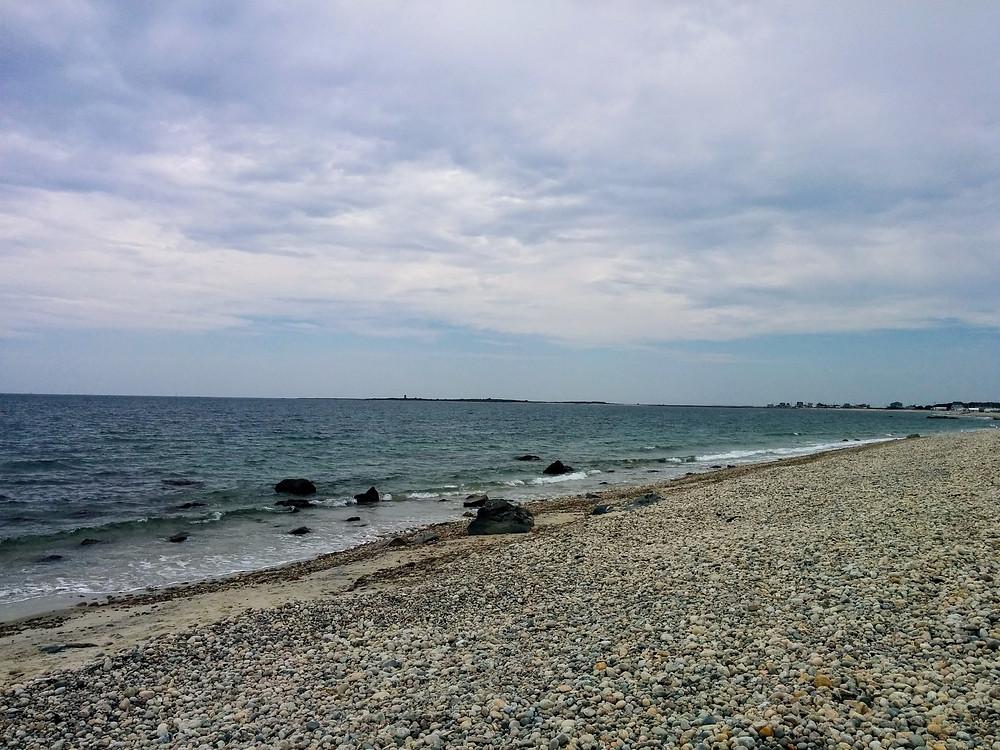 praia de cascalho