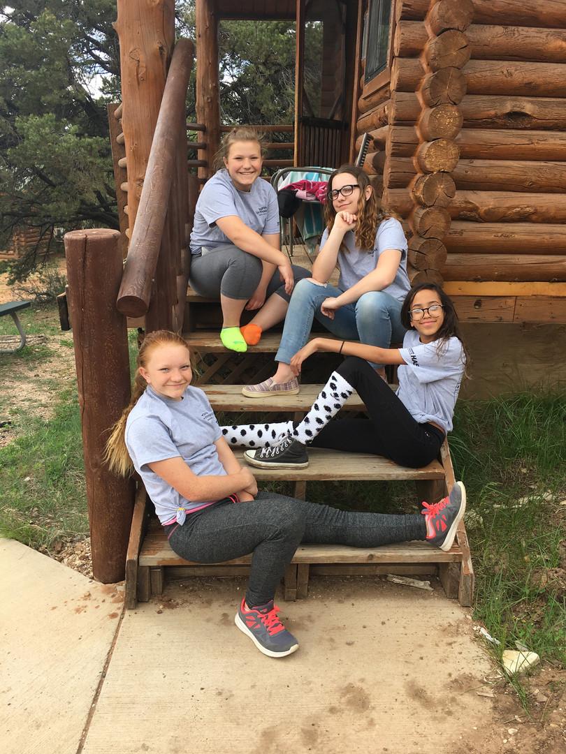 Kids at Zion Ponderosa Cabins