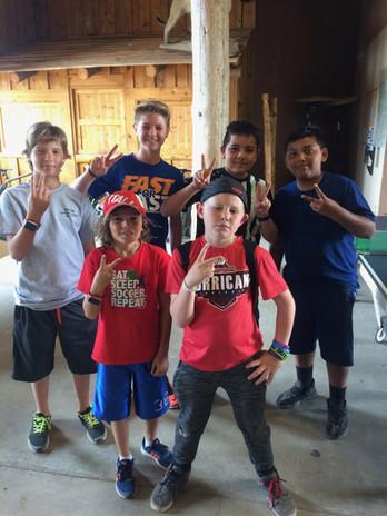 Kids at Zion Ponderosa