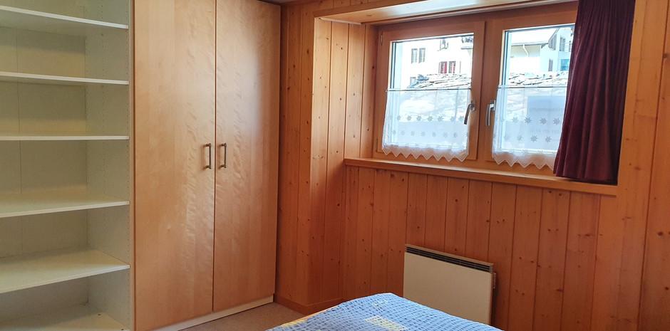 Stauraum im kleinen Schlafzimmer