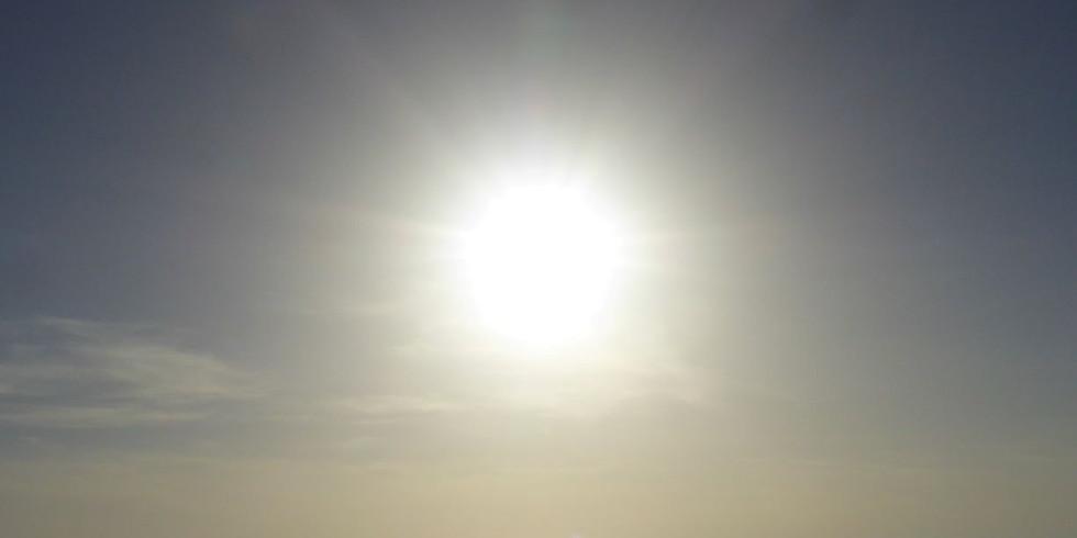 Lichtkreis am Morgen 27.7.2020