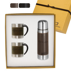 Coffee Cup & Thermos Set