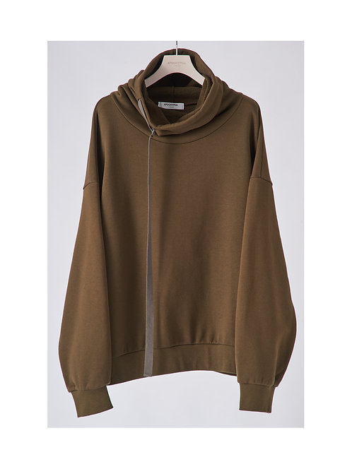 APOCRYPHA. Neck Warm Sweat - Olive*再入荷