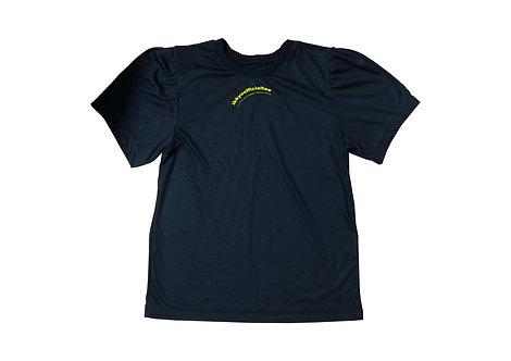 一興-IKKYO OFFICIAL T-shirt Black×Yellow