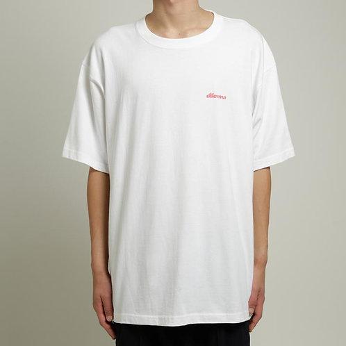 Dilemma Petrichor Arcade BIG Tshirt - White