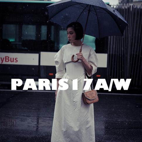 PARIS 17A/W FashionWeekParis17aw