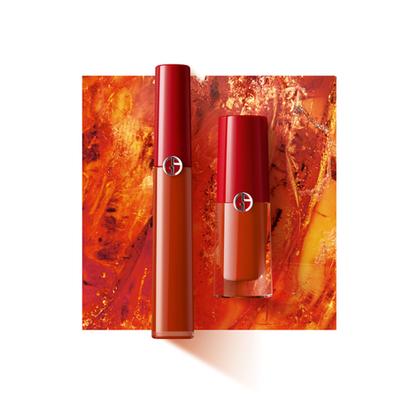 アルマーニ ビューティより、トレンド感あふれるブリックオレンジのリップ マエストロが新登場。