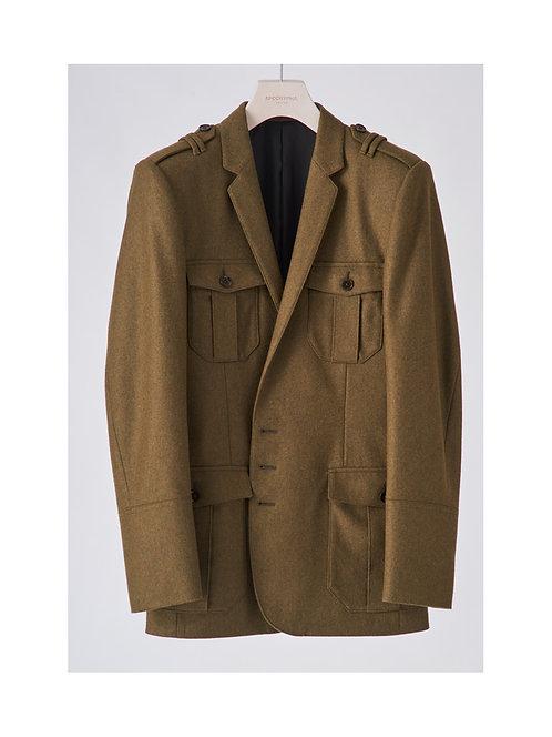 <Pre Sale 30%OFF >APOCRYPHA. Flannel Officer Jacket