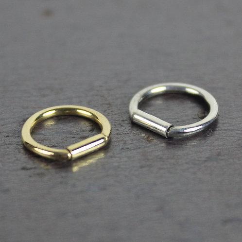 Gaing Ring Pierce (silver) 1P