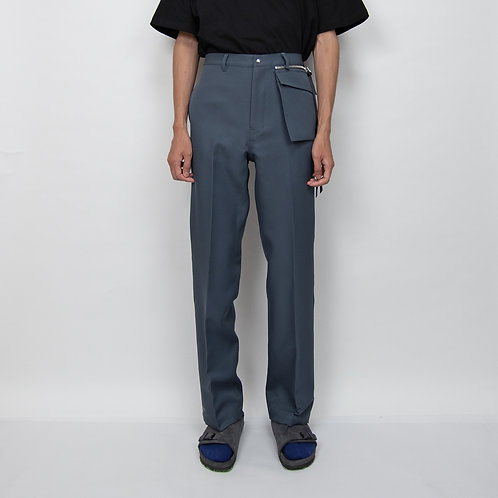 PORTVEL WORK PANTS TYPE-4 - FoggyBlue