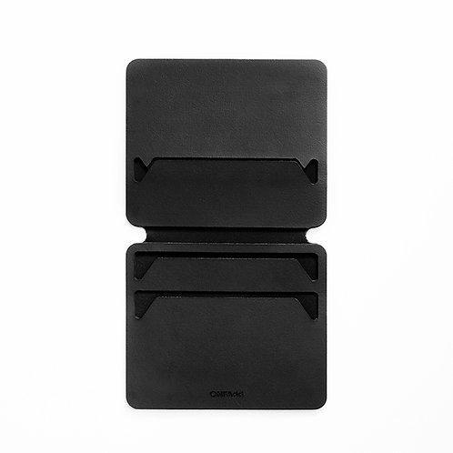 ONFAdd FLAT WALLET M - BLACK