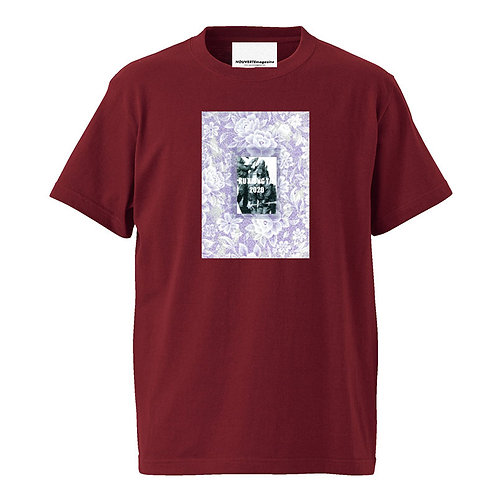 """<Pre Sale 40%OFF >NOUVERTEmagazine S/S Tee """"FN SCAR"""" by Ku Xiong Tai - BURGUNDY"""