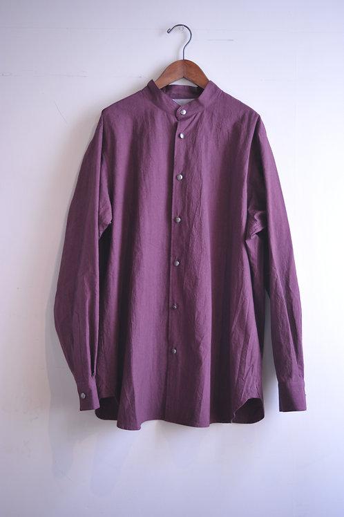 GENKOTSU CREATE GORO SHIRTS -ST- CONCHO BUTTON - Purple