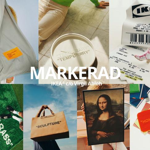 IKEA x VIRGIL ABLOH 限定コレクション「MARKERAD/マルケラッド」 世界中のイケアで一斉発売