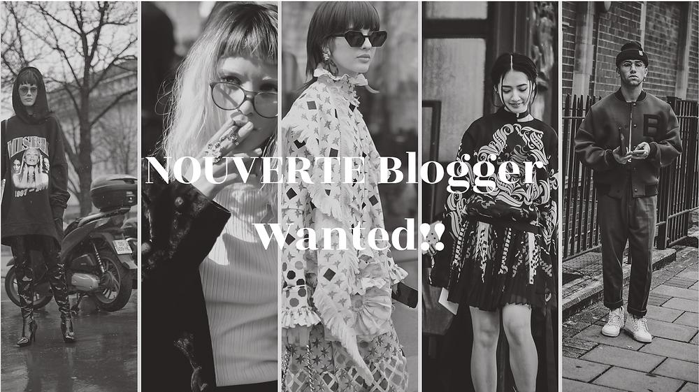 NOUVERTE Blogger Wanted