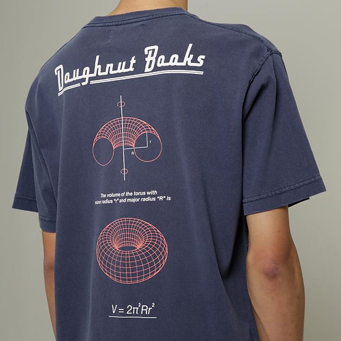 Dilemma Doughnut Books BIG Tshirt - Navy