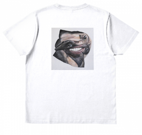 """Akio Onishi  """"Portrait""""T-shirt"""