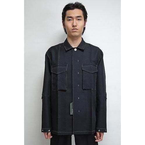 <Pre Sale 30%OFF>NULABEL CM1YOK42 Fall/Winter 2020 WORK DRESS JACKET - Black