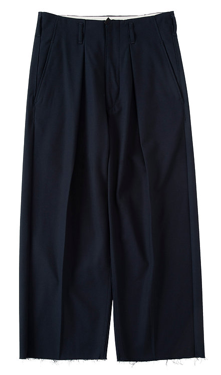 saby TUCK BAGGY - Hicount 20/2 twill - Navy