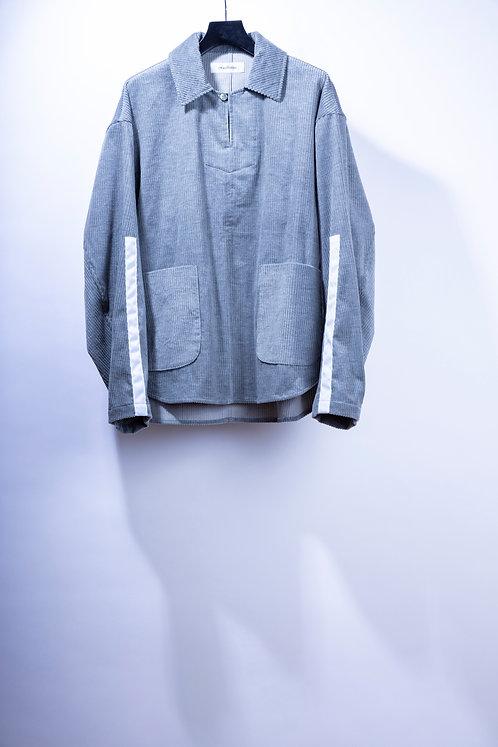 prasthana passive cord P/O jacket - Gray