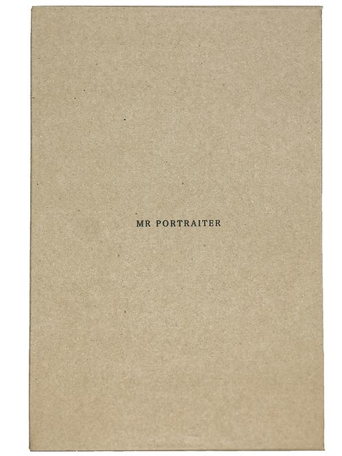 "Mr.Portraiter by Iriguchi Kenta 写真集 ""FØCÜS PAPER"""