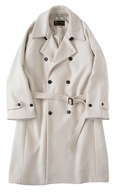 saby DOUBLE-BREASTED COAT - MANTECO ITALY -