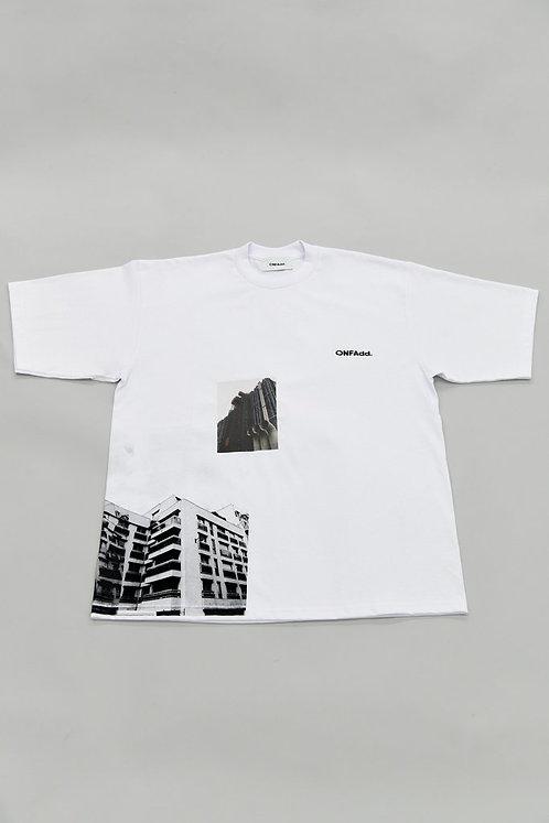 ONFAdd × Mr.Portraiter by Iriguchi Kenta T-shirts -White