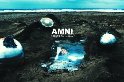 "AMNI(アムニ)が""誕生""をテーマとした2020年春夏コレクション、ルックを発表。"