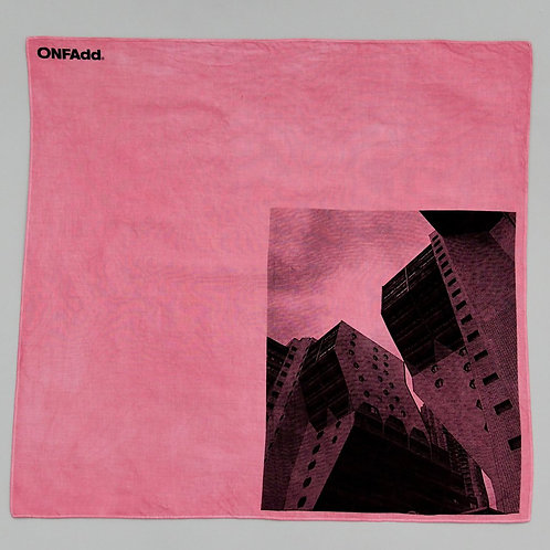 ONFAdd × Mr.Portraiter by Iriguchi Kenta Handkerchief - Pink