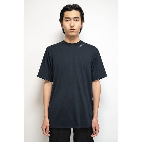 NULABEL CM1YOK42 Fall/Winter 2020 BASIC TEE S/S - Black