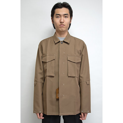 NULABEL CM1YOK42 Fall/Winter 2020 WORK DRESS JACKET - Camel