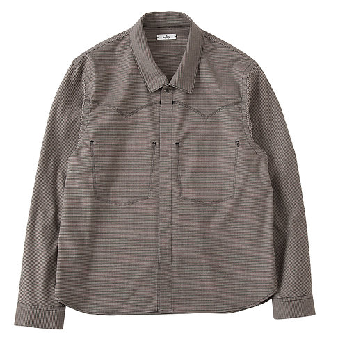 <Pre Sale 30%OFF>saby COWBOY SHIRTS - Houndstooth check -