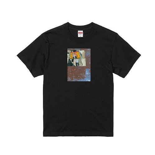 "YABIKU HENRIQUE YUDI × Mr.Portraiter by Iriguchi Kenta Tee ""B""-Black"
