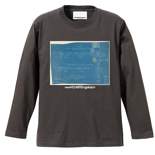 """<Pre Sale 40%OFF >NOUVERTEmagazine L/S Tee """"Girault, Charles Louis"""" 01"""