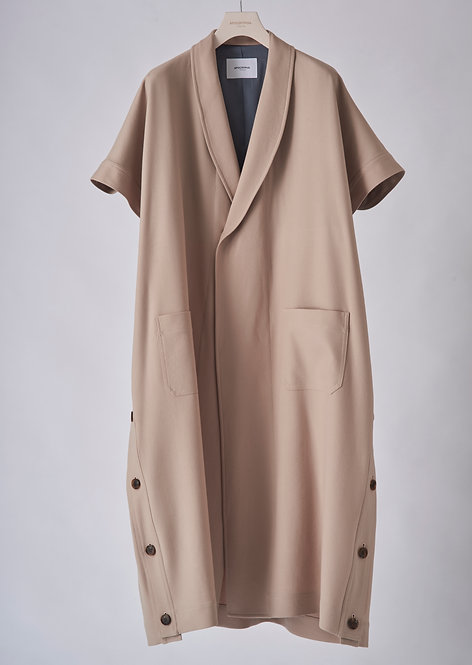 APOCRYPHA. 20SS DRY WOOL GOWN COAT