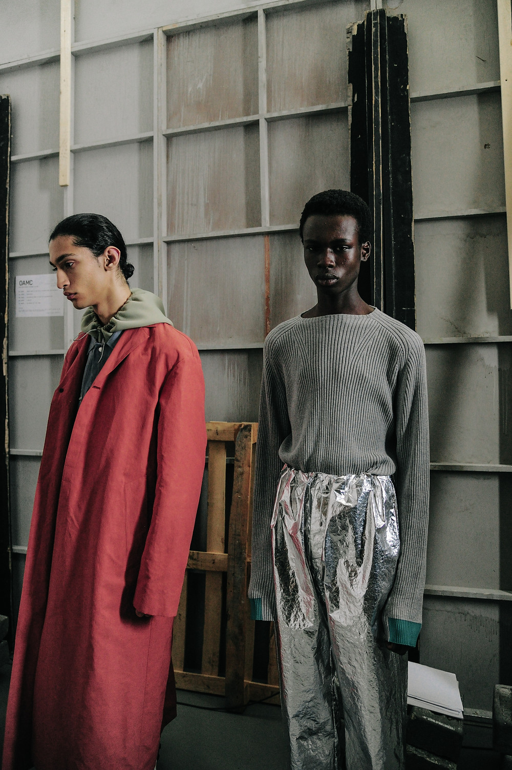 OAMC 2019 MEN'S COLLECTION BACKSTAGE