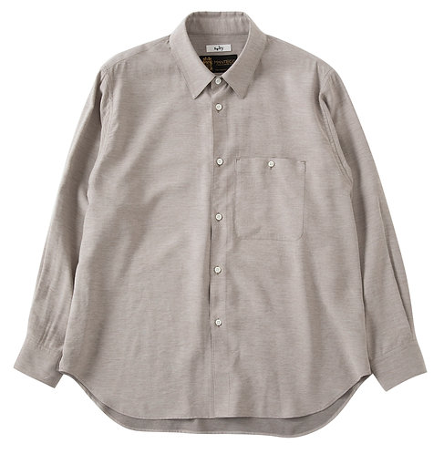 saby STANDARD SHIRTS - Manteco Italy - Ash Beige